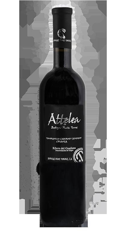Attelea-Crianza-2015-Do-Ribera-del-Guadiana-Vinos de España-Mejores Vinos- Vino Extremadura- Ruiz Torres-