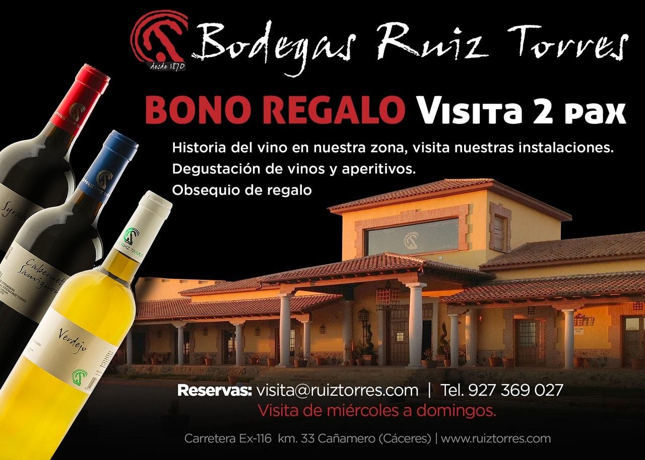 BONO-REGALO-ruiz-torres-bodegas-vinos-españa-extremadura-caceres