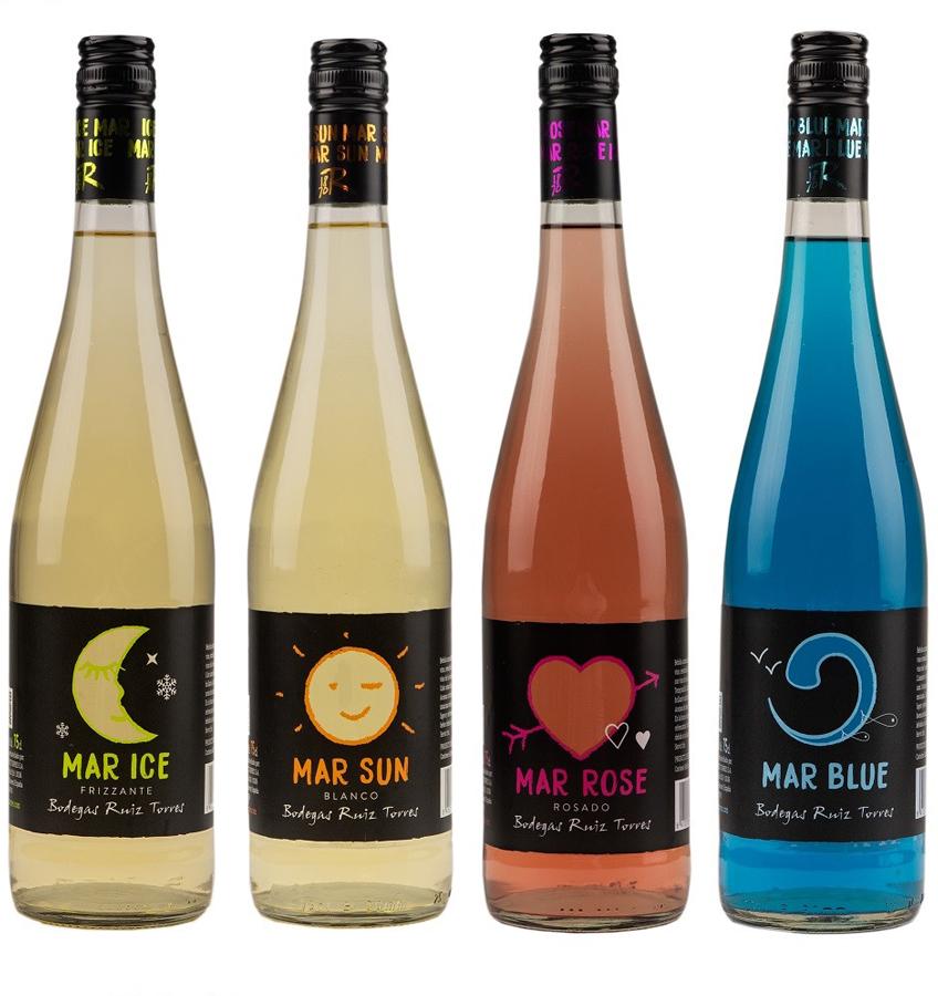 Bodegas Ruiz Torres. Especial Mayo-Junio Lote 4 botellas MAR.
